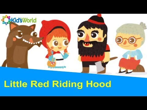 Little Red Riding Hood Full Story By Charles Perrault, Fairy Tales for Kids