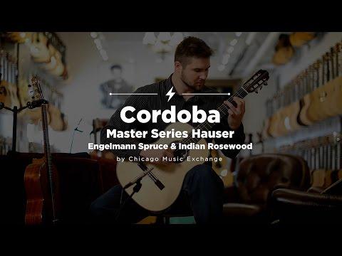 Quick Riffs: Cordoba Master Series Hauser Classical Guitar Demo
