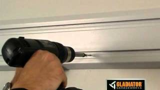 Gladiator® Garageworks: How To Install Geartrack Channels