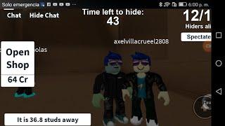 Brincando com meu primo em Roblox (leia a descrision)