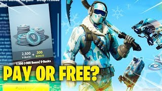 Fortnite HOW TO GET DEEP FREEZE BUNDLE IN FORTNITE - How to get Frostbite Skin