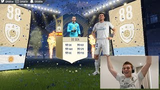 OMFG I PACKED MY FIRST FIFA 18 ICON!!! INSANE FIFA 18 Pack Opening