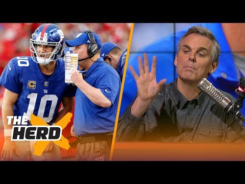 Colin Cowherd on the future of the Giants QB spot, potential NFL coaching changes   THE HERD