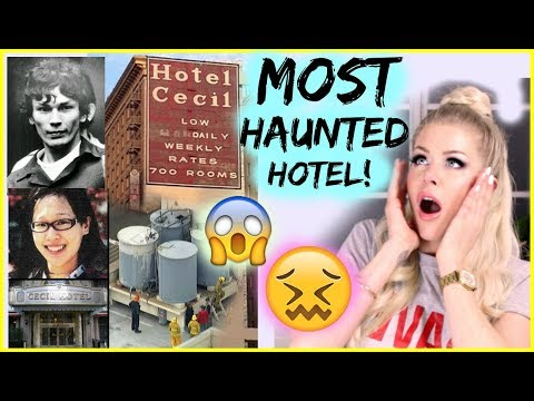 REAL Life American Horror Story Hotel Cecil| Mystery Monday's Series #3