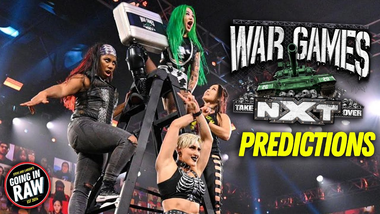 NXT War Games Predictions | NXT TV Fulls Results & Review | Going In Raw