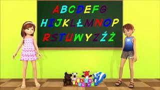 Alfabet dla dzieci - Piosenki dla dzieci bajubaju.tv