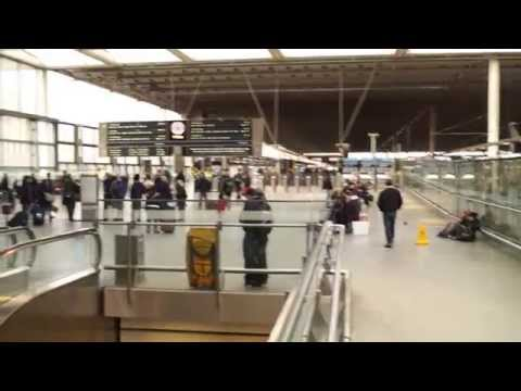 Eurostar Trip London to Paris 2015 and Travel on Metro Network