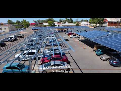 Northam Boulevard Solar Car Park - PAE Project Overview