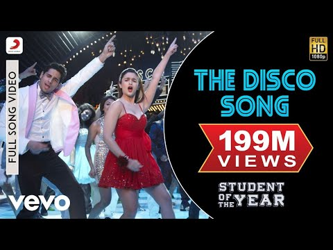 The Disco Song  SOTY  Alia Bhatt  Sidharth Malhotra  Varun Dhawan