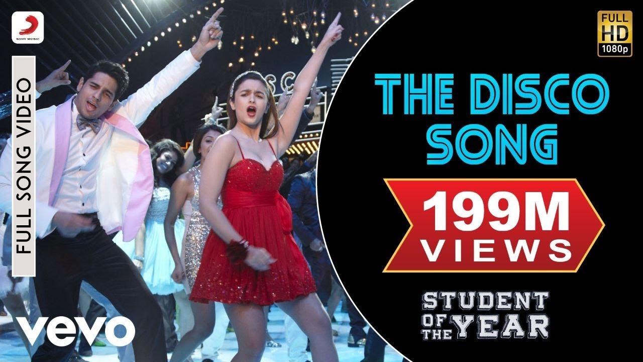 Disco Deewane Song From Student Of The Year The Disco Song Soty Alia Bhatt Sidharth Malhotra