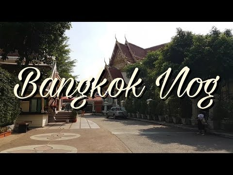 Bangkok Trip Vlog (X'mas season)