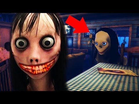 DO NOT TEXT MOMO OR SHE WILL DO THIS.. || MOMO Horror Game *NEW*