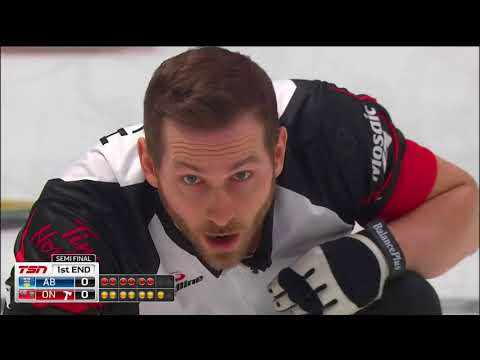 Epping (ON) vs. Bottcher (AB) - 2018 Tim Hortons Brier - Semifinal