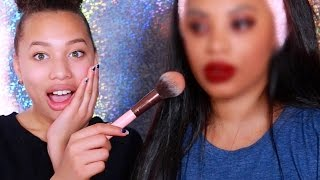 One of msroshposh's most viewed videos: DAUGHTER DOES MY MAKEUP!!!! / MSROSHPOSH