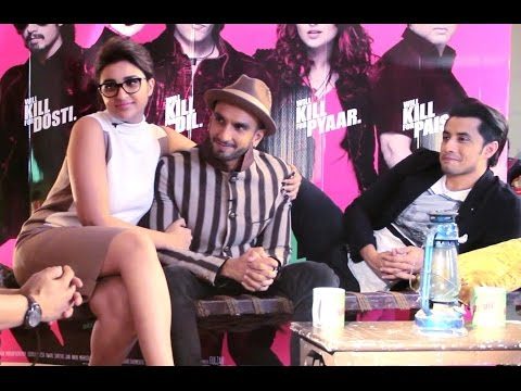 Ranveer Singh, Parineeti Chopra, Ali Zafar Exclusive Interview | Latest Bollywood movie Kill Dil