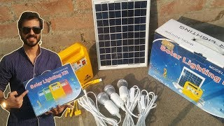 Portable Solar Lighting System Review
