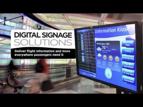 Rockwell Collins ARINC Digital Signage Solutions