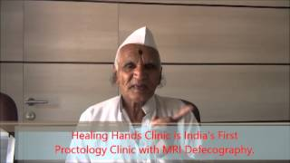 Testimonial for Piles Surgeon in Pune - Dr. Ashwin Porwal | Piles Treatment in Pune