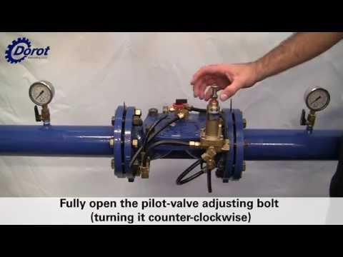 Installation and Commissioning of a dorot model 47-PR pressure reducing valve Tutorial