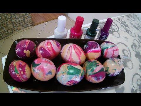 Neobično,brzo a najlepše farbanje Uskršnjih jaja / otkrite zašto ! /