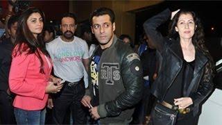 Salman khan's double date with daisy shah & sangeeta bijlani