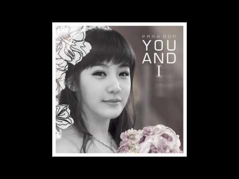 You And I - Park Bom (INSTRUMENTAL/KARAOKE)