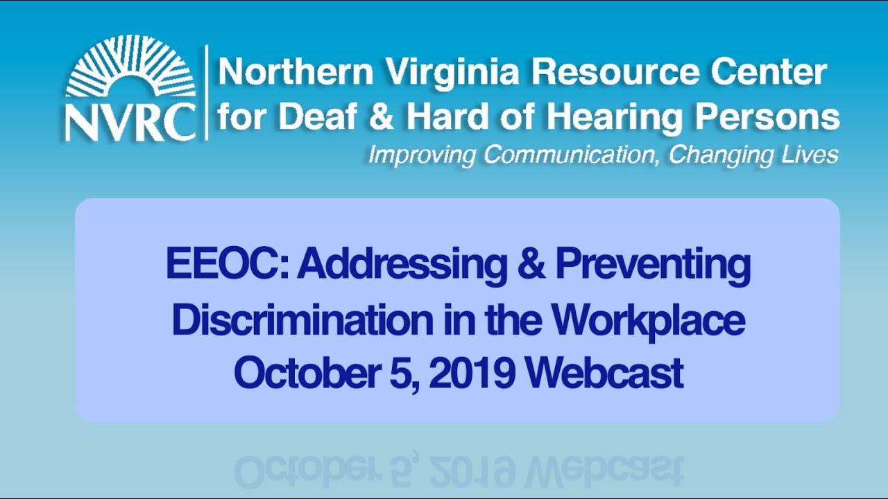 employment – Northern Virginia Resource Center for Deaf ...