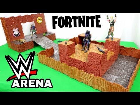 FORTNITE Wrestling Arena - Turbo Builder Set | Jazwares Toys
