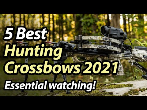 Best Hunting Crossbow 2021 – Top 5 crossbows for hunting reviewed