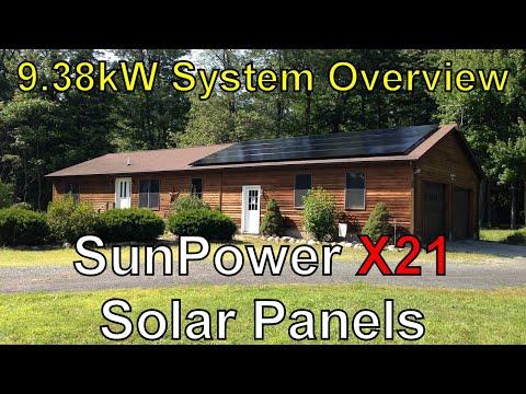 SunPower X21 9kW PV Solar Panels