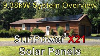 SunPower X21 9kW PV Solar System