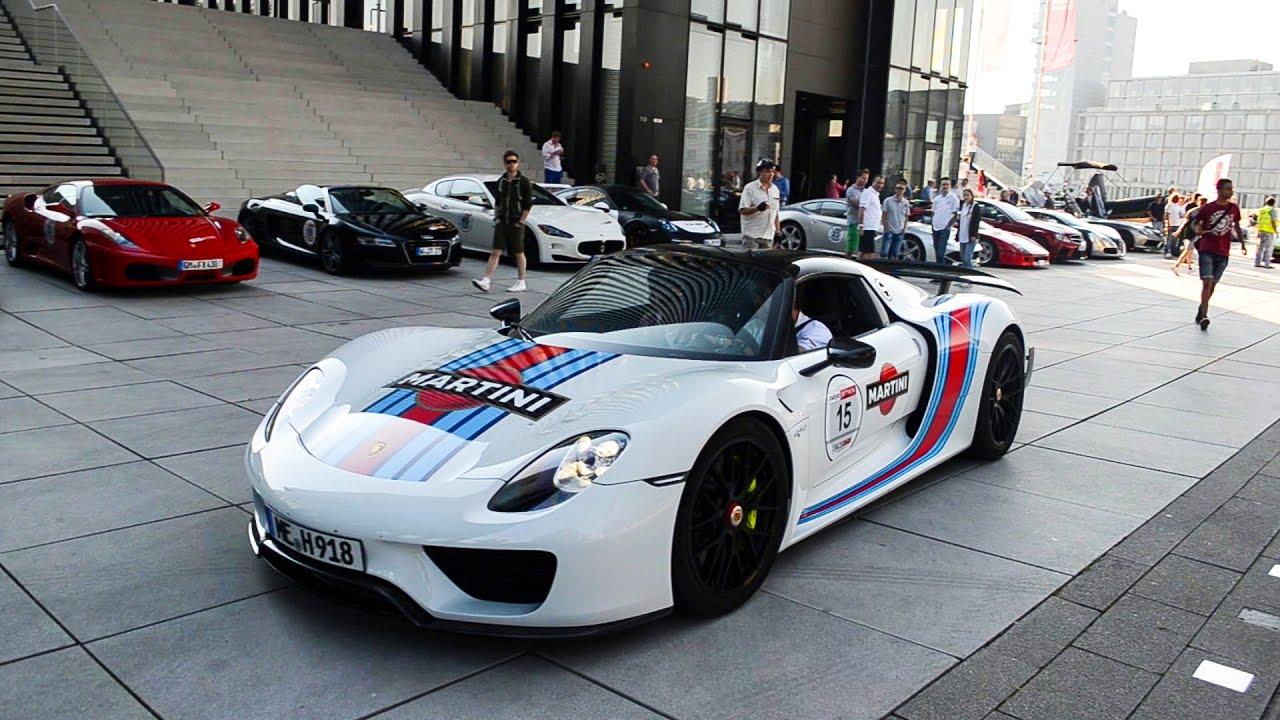 maxresdefault Inspiring Porsche 918 Spyder Blue Flame Cars Trend