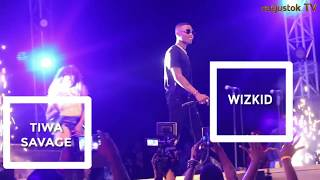 What Truly Happened Between Wizkid & Tiwa Savage At #GidiFest2018
