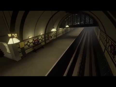 3D London Underground in the 40's