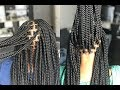 How to Part Box Braids // Box Parting 101