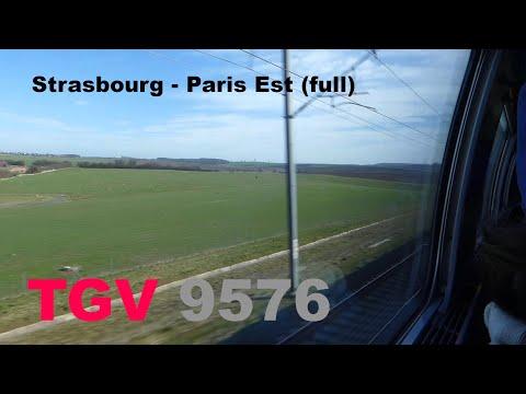 [320 km/h] LGV Est Strasbourg - Paris mit TGV Duplex