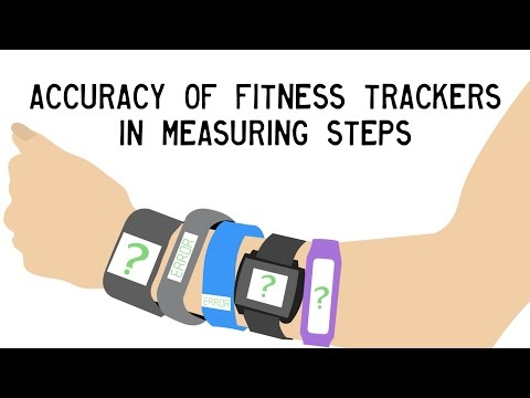 Accuracy of Fitness Trackers in Measuring Steps