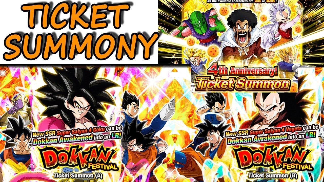 tickets lr ssj4 goku lr ssj4 vegeta 4th anniversary