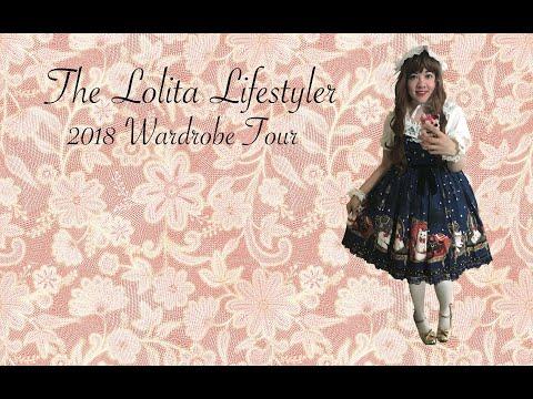 Diana Melody-Rose's 2018 Lolita Wardrobe