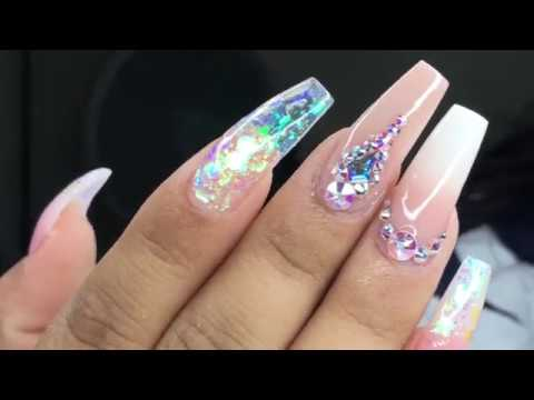 BIRTHDAY NAILS 🥳 (REAL TIME VIDEO )