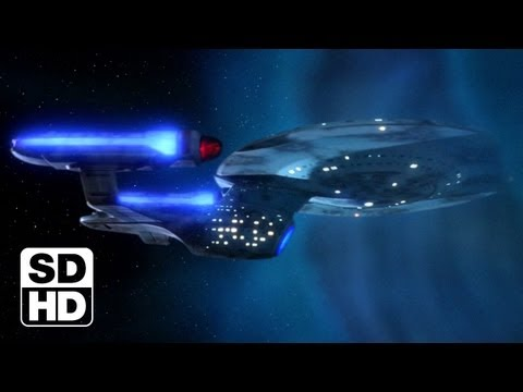 TNG Remastered: 3x15 'Yesterday's Enterprise' Comparison, SD To HD