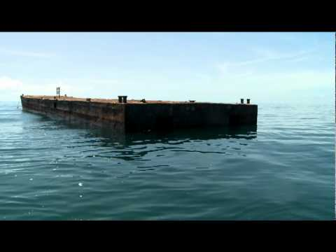 Barge Sinking - Artificial Reef
