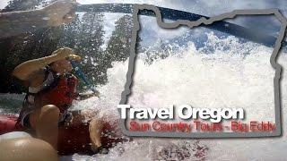 Travel Oregon 2015 Sun Country Tours White Water River Rafting Big Eddy Deschutes River