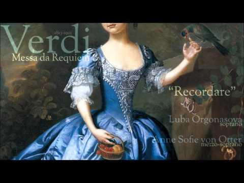 """Verdi - """"Recordare""""   Aria for soprano & mezzo-soprano"""