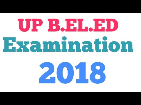 Up beled examination 2018