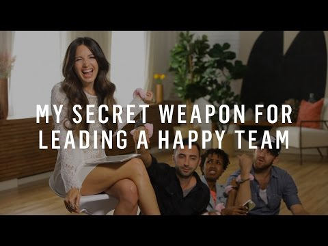 My Secret Weapon For Leading A Happy Team