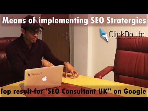 2018 SEO Strategy Creation for Local Business in UK