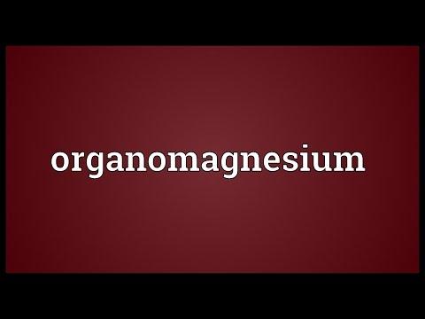 Header of organomagnesium