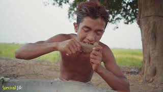 Unbelievable Video Found Resin Baby in Crocodile Stomach then Cook Eating Delicious