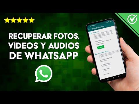 Cómo Recuperar Fotos, Vídeos y Audios Borrados de WhatsApp que me Enviaron